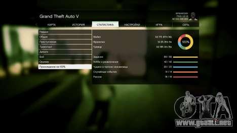 GTA 5 Guardar GTA 5 100% y más de 1 mil millones de PS
