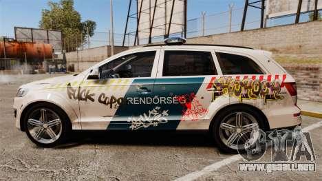 Audi Q7 FCK PLC [ELS] para GTA 4 left