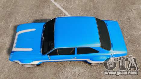 Ford Escort MK1 FnF Edition para GTA 4 visión correcta