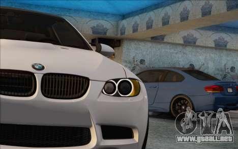 BMW M3 E92 2008 para GTA San Andreas left