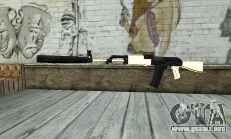Golden AK47 para GTA San Andreas