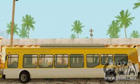 El Autobús de transporte из GTA 5 para visión interna GTA San Andreas