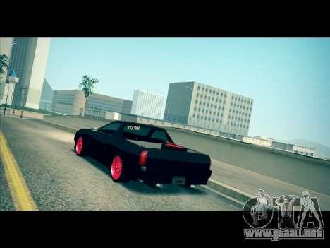 Elegy P1kachuxa Private para GTA San Andreas vista posterior izquierda