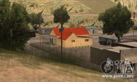 Casa nueva de Sijia en El Quebrados v1.0 para GTA San Andreas segunda pantalla