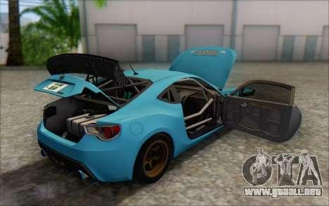 Scion FR-S 2013 Beam para el motor de GTA San Andreas