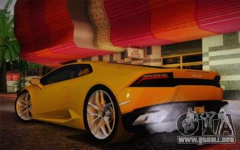 Lamborghini Huracan 2013 para la visión correcta GTA San Andreas