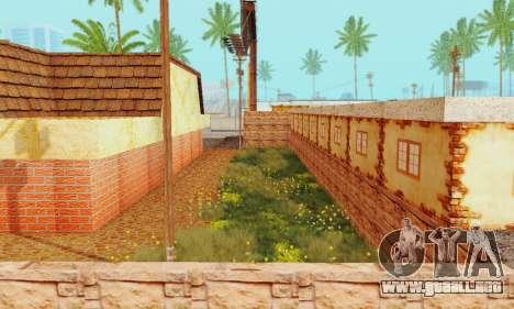 La nueva textura pizzerías y comodidades a Engañ para GTA San Andreas undécima de pantalla