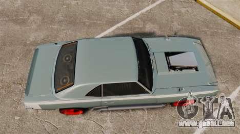 Declasse Vigero Supercharger v2.0 para GTA 4 visión correcta