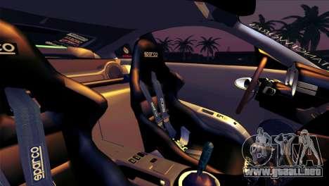 Nissan 350Z Minty Fresh para las ruedas de GTA San Andreas