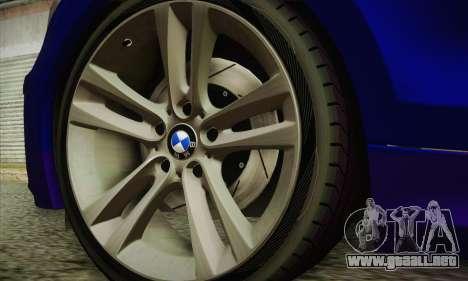 BMW 120i SE Carabinieri para la visión correcta GTA San Andreas