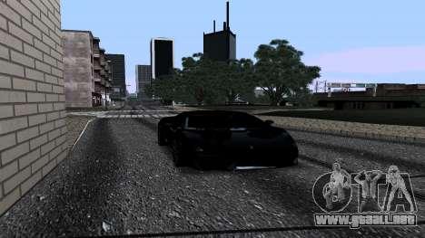 New Roads v2.0 para GTA San Andreas sucesivamente de pantalla
