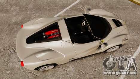 Ferrari LaFerrari Spider v2.0 para GTA 4 visión correcta
