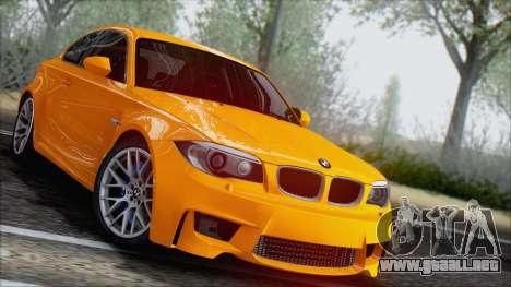 BMW 1M 2011 para la visión correcta GTA San Andreas