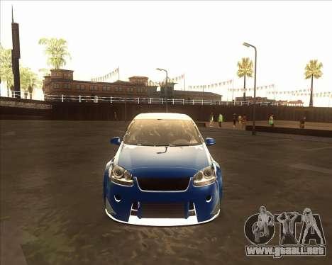 Volkswagen Golf из NFS most Wanted para GTA San Andreas left