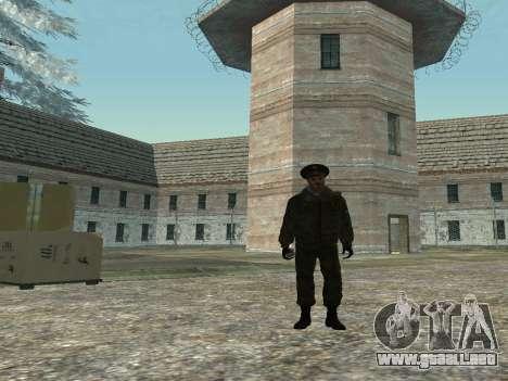 El teniente Coronel de las tropas interiores para GTA San Andreas segunda pantalla
