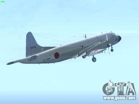 Lockheed P-3 Orion FAJ para la visión correcta GTA San Andreas