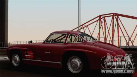 Mercedes-Benz 300SL 1955 para GTA San Andreas left