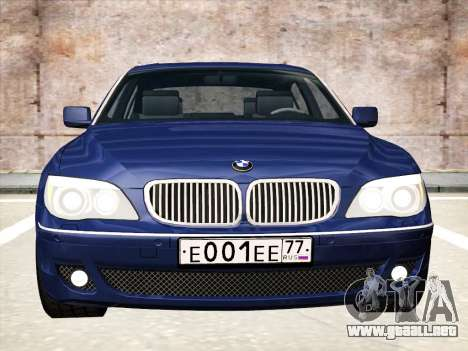 BMW 760Li para GTA San Andreas left
