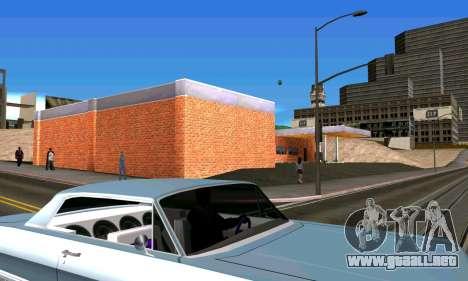 Nuevo garaje en San Fierro para GTA San Andreas quinta pantalla