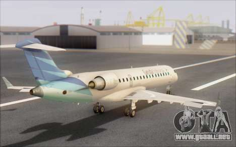 Garuda Indonesia Bombardier CRJ-700 para GTA San Andreas left
