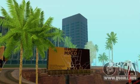 Alternativa Trimestre para GTA San Andreas sexta pantalla
