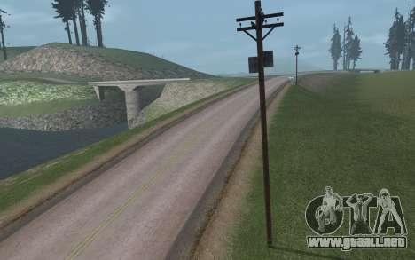 RoSA Project v1.3 Countryside para GTA San Andreas twelth pantalla