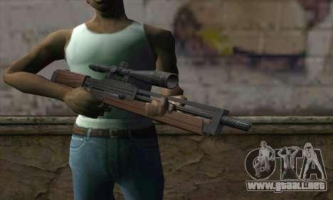 Walther WA2000 para GTA San Andreas tercera pantalla