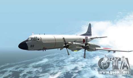 Lockheed P-3 Orion FAJ para GTA San Andreas