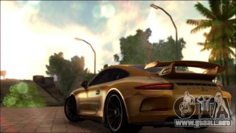BRC ENB 2.0 para GTA San Andreas sucesivamente de pantalla