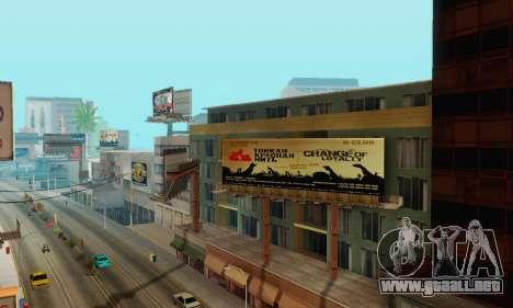 Alternativa Trimestre para GTA San Andreas segunda pantalla