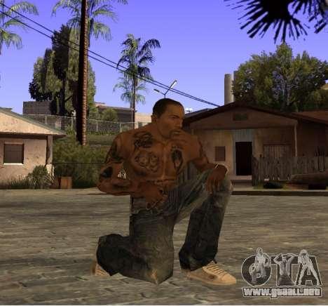 Nuevos jeans para CJ para GTA San Andreas tercera pantalla