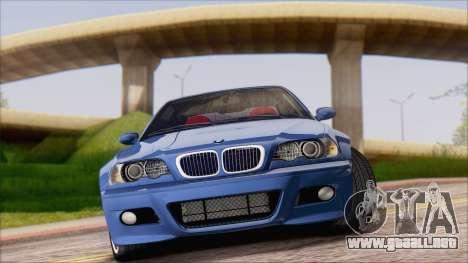 BMW M3 E46 2002 para GTA San Andreas left