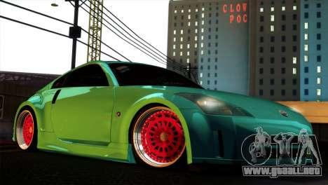Nissan 350Z Minty Fresh para GTA San Andreas