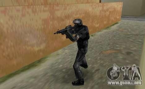 Luchador de Spetsnaz ruso de CS:CZ para GTA Vice City segunda pantalla