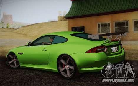 Jaguar XKR-S GT 2013 para GTA San Andreas left