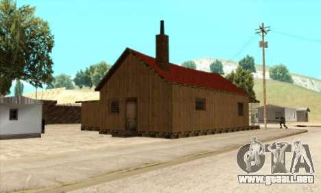 Casa nueva de Sijia en El Quebrados v1.0 para GTA San Andreas tercera pantalla