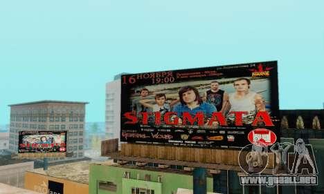 Alternativa Trimestre para GTA San Andreas tercera pantalla