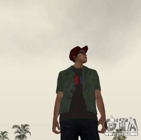 New Zero para GTA San Andreas quinta pantalla
