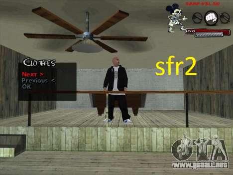 Pieles Surenos 13 para GTA San Andreas segunda pantalla