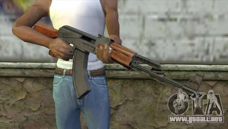 AK-47 Assault Rifle para GTA San Andreas tercera pantalla