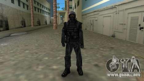 Luchador de Spetsnaz ruso de CS:CZ para GTA Vice City tercera pantalla
