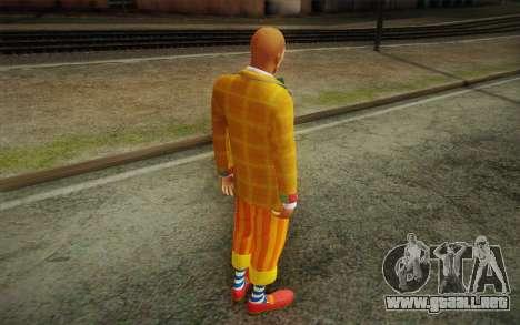 El payaso de GTA 5 para GTA San Andreas tercera pantalla