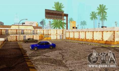 La nueva textura pizzerías y comodidades a Engañ para GTA San Andreas sucesivamente de pantalla