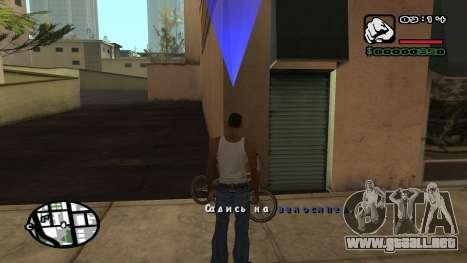 Fuente nueva V.3 para GTA San Andreas para GTA San Andreas séptima pantalla