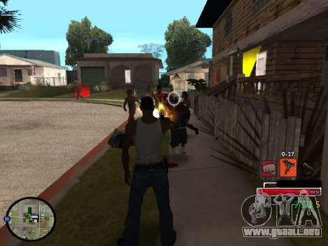 C-HUD by Martin para GTA San Andreas tercera pantalla