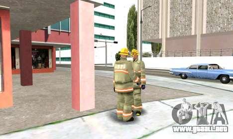 Realista de la estación de bomberos de Los Santo para GTA San Andreas quinta pantalla