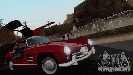 Mercedes-Benz 300SL 1955 para la vista superior GTA San Andreas