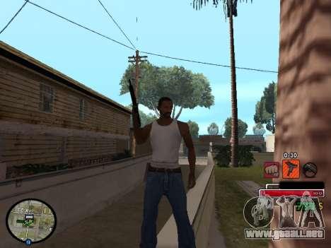 C-HUD by Martin para GTA San Andreas segunda pantalla