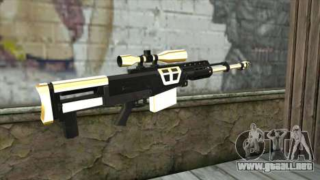 Golden Sniper Rifle para GTA San Andreas segunda pantalla
