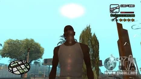 Fuente nueva V.3 para GTA San Andreas para GTA San Andreas tercera pantalla